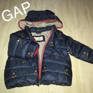 babyGAP - GAP ミッキーダウンジャケット 12〜18ヶ月