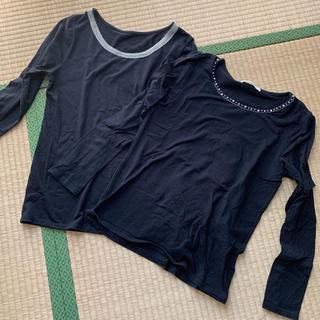 マジェスティックレゴン(MAJESTIC LEGON)のロンT 黒(Tシャツ(長袖/七分))