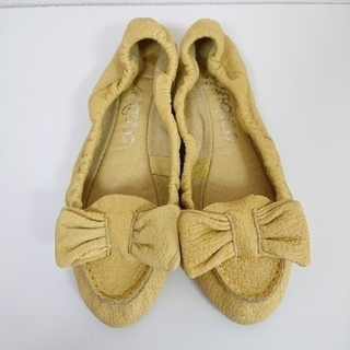 ランダ(RANDA)のリボンフラットシューズ RANDA ROSSO(ローファー/革靴)