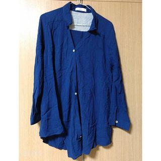 ikka - シャツ ブルー