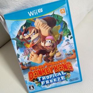ウィーユー(Wii U)のドンキーコング トロピカルフリーズ Wii U(家庭用ゲームソフト)