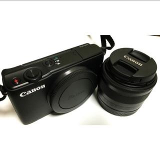 Canon - Canon ミラーレス一眼カメラ EOS M10 レンズキット(ブラック)
