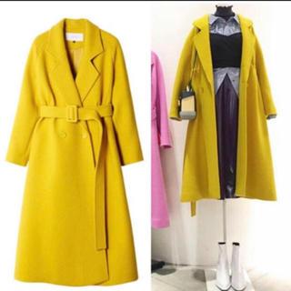 LE CIEL BLEU - ルシェルブルー イエロー コート ロングコート 正規品