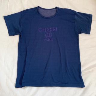 CHANEL ロゴ 半袖 Tシャツ(Tシャツ(半袖/袖なし))