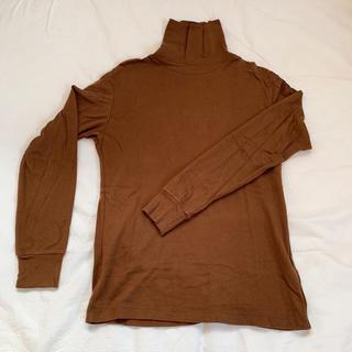 ユニクロ(UNIQLO)の【美品】UNIQLO メンズ タートルネック 長袖(Tシャツ/カットソー(七分/長袖))