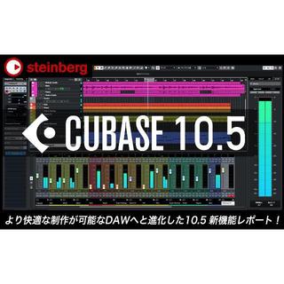 最新版 Steinberg Cubase Pro 10.5(DAWソフトウェア)