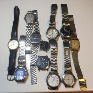 セイコー(SEIKO)のメンズ 腕時計 まとめ売り ジャンク(腕時計(アナログ))