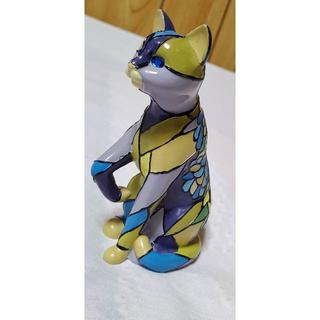 ティファニー(Tiffany & Co.)の正規 ティファニー wisteria アンティークキャット フィギュア 猫 置物(その他)