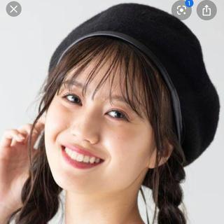 ウィゴー(WEGO)の合わせやすいベレー帽(ハンチング/ベレー帽)