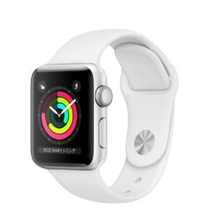 アップルウォッチ(Apple Watch)のアップルウォッチ3 シルバー 38mm(腕時計(デジタル))