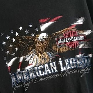 Harley Davidson - バイク HARLEY ハーレー ハーレーダビッドソン 長袖 Tシャツ シャツ