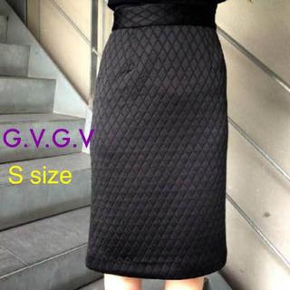 ジーヴィジーヴィ(G.V.G.V.)のG.V.G.V / キルティングワッフルペンシルスカート(ロングスカート)