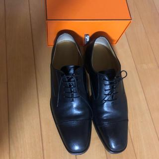 Hermes - HERMES ローファー 革靴 41