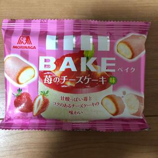 モリナガセイカ(森永製菓)の森永ベイク苺のチーズケーキ味(菓子/デザート)