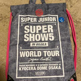 スーパージュニア(SUPER JUNIOR)の2wayリュック&トート SUPER SHOW5(リュック/バックパック)