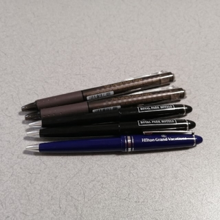 パイロット(PILOT)のホテルボールペン 5本セット フリクション(ペン/マーカー)