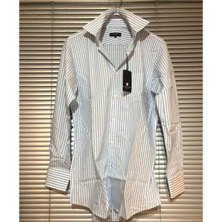 ブラックレーベルクレストブリッジ(BLACK LABEL CRESTBRIDGE)の新品 ブラックレーベル クレストブリッジ 定価16500円 長袖ストライプシャツ(シャツ)