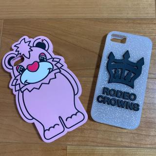 ロデオクラウンズワイドボウル(RODEO CROWNS WIDE BOWL)のロデオクラウンズ  iPhoneケース(iPhoneケース)
