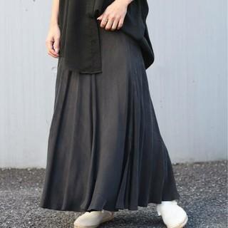 Plage - 新品タグ付 Plage Fibril ギャザーロングスカート