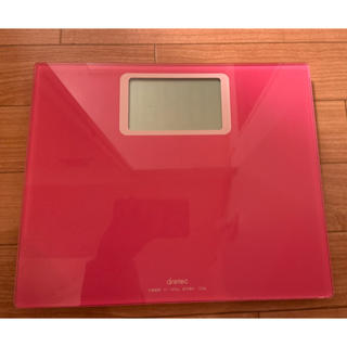 dretec 電子計量器 電子体重計