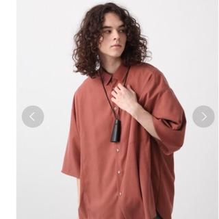 HARE - hare モダールビッグシャツ オープンカラーシャツ カイキン 開襟 ネック