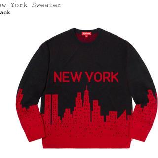 シュプリーム(Supreme)の 値下げ★新品★supreme  newyork sweater ★XL(ニット/セーター)