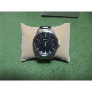 セイコー(SEIKO)のSEIKO ソーラー電波時計 セイコーセレクション SBTM255 ブラック 黒(腕時計(アナログ))