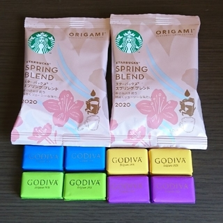 Starbucks Coffee - GODIVA & STARBUCKS コーヒーブレイクSet