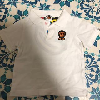 アベイシングエイプ(A BATHING APE)のポロシャツ  ベイプ(Tシャツ/カットソー)