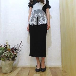 マメ(mame)のマメ スカート(ひざ丈スカート)