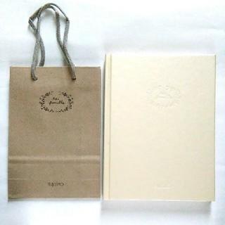 フェリシモ(FELISSIMO)の非売品 ノート&ペーパー バッグ セット(ノート/メモ帳/ふせん)