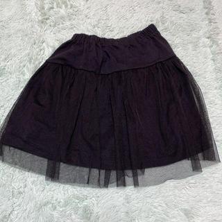 motherways - スカート レース 女の子 黒 130