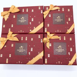 チョコレート(chocolate)のゴディバ クロニクルシックアソートメント 4箱セット チョコレート ギフト(菓子/デザート)