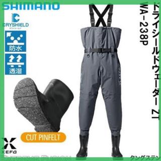シマノ(SHIMANO)のSHIMANOゼフォー  ドライシールドウェーダー(ウエア)