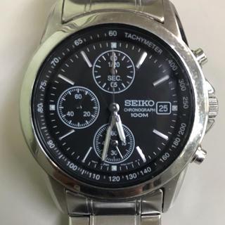セイコー(SEIKO)のセイコー クロノグラフ   メンズ 腕時計(腕時計(アナログ))