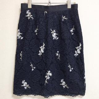 MISCH MASCH - MISCH MASCH 刺繍レーススカート