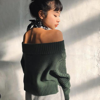 ALEXIA STAM - juemi♡オフショルニット