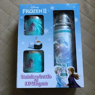アナトユキノジョオウ(アナと雪の女王)のアナと雪の女王Ⅱ ステンレスボトル+2Pマグセット (水筒)