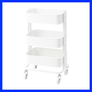 IKEA - IKEA RÅSHULT ワゴン ホワイト