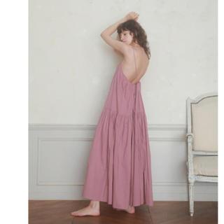 Rosary moon - 完売★ロザリームーン ワンピース(Cotton Loan Cami Dress)