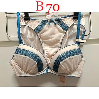 アモスタイル(AMO'S STYLE)のトリンプ  アモスタイル ブラ ジャー&ショーツ  B70/M(ブラ&ショーツセット)