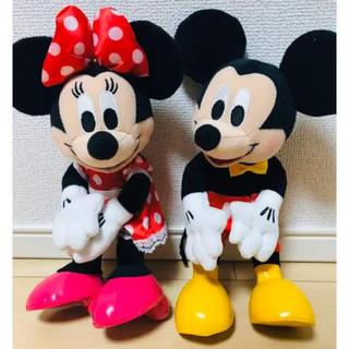 ディズニー(Disney)のミッキーミニー 電報 人形(ウェルカムボード)