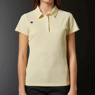 DESCENTE - L 新品 定価16200円 デサント 半袖 ポロシャツ レディース