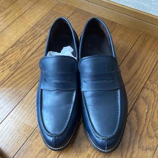タケオキクチ(TAKEO KIKUCHI)のタケオキクチ TAKEO KIKUCHI ローファー 紺色(ドレス/ビジネス)