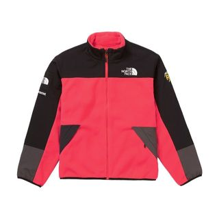 シュプリーム(Supreme)のSupreme ノースフェイス フリースジャケット RED S 新品(その他)