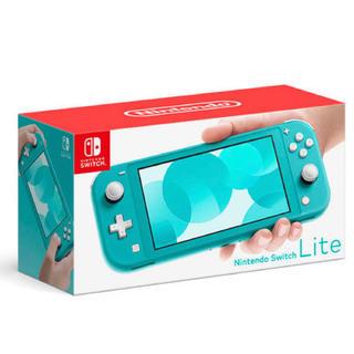 ニンテンドースイッチ(Nintendo Switch)のNintendo Switch Lite  ターコイズブルー(家庭用ゲーム機本体)