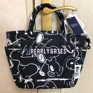 パーリーゲイツ(PEARLY GATES)の新品 パーリーゲイツ スヌーピー トートバッグ ネイビー(バッグ)