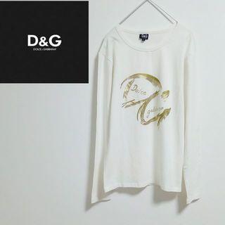 ドルチェアンドガッバーナ(DOLCE&GABBANA)のイタリア製 D&G ドルチェ&ガッバーナ ロンT 長袖Tシャツ(Tシャツ/カットソー(七分/長袖))