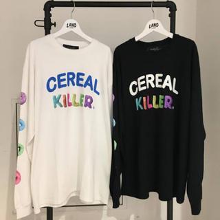 ミルクボーイ(MILKBOY)のmilkboy cereal killer ロングスリーブTシャツ(Tシャツ/カットソー(七分/長袖))