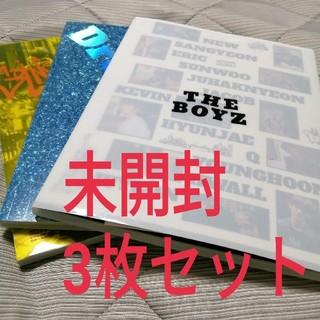 THEBOYZ DDD 未開封 3種セット(K-POP/アジア)